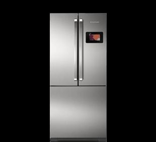Geladeira side inverse central inteligente 540 litros for Geladeira 2 portas inox